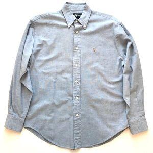 Ralph Lauren long sleeve button down shirt pony